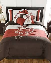 Red And White Comforter Sets Bed In A Bag And Comforter Sets Queen King U0026 More Macy U0027s