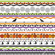 halloween clipart border images clipartxtras