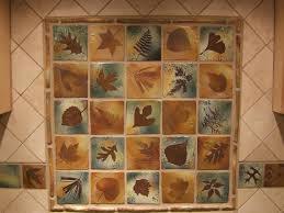 themed tiles backsplash tiles rustic decor nature themed botanical 4 inch