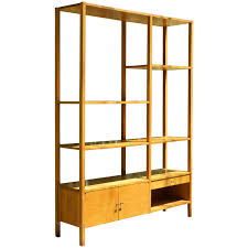 mid century room divider 1950s paul mccobb planner group room divider bookcase wall unit
