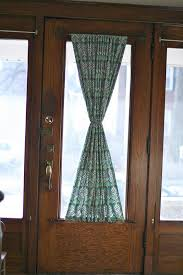 Curtains For Front Doors Diy Door Panel Thenerdnest