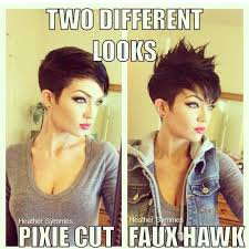 how to style a pixie cut different ways black hair how to style a pixie haircut two different ways hair pinterest