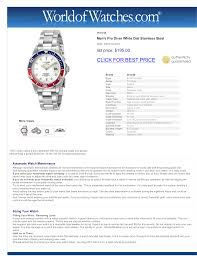 download free pdf for invicta pro diver 8933 watch manual