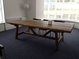 Old World Kitchen Tables by Beautiful Rustic Old World Reclaimed Timber Trestle Table Made Up