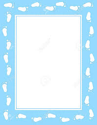free baby clipart borders and frames clip decoration
