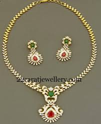 simple diamond sets enchanting simple diamond set jewellery designs