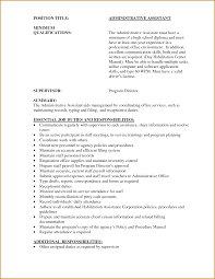 Excellent Administrative Assistant Resume Assistant Resume Summary Samples Answered Lous