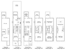 brownstone floor plans new york city saxophonist david sanborn lists manhattan townhouse variety