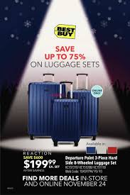 best luggage deals black friday best buy pre black friday vip sale flyer november 24