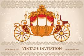 Download Invitation Card Design Vintage Invitation Cards Background Vector 02 Vector Background