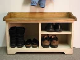 bench with shoe storage ideas home inspirations design