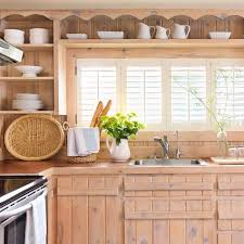 Wooden Furniture For Kitchen Salvaged Kitchen Cabinets Insteading