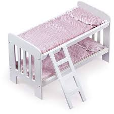 Badger Basket Doll Bunk Beds With Ladder Fits Most  Dolls - Dolls bunk bed