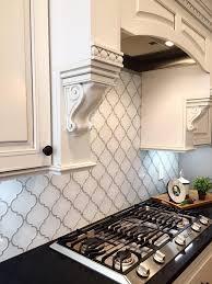 interesting fine white tile backsplash amazing white kitchen tile