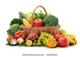 basket of fruits vegetable basket stock images royalty free images vectors