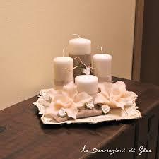 composizione di candele le decorazioni di glee composizione di candele candles
