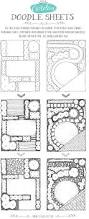 House Plans With Landscaping by Top 25 Best Landscape Plans Ideas On Pinterest Privacy
