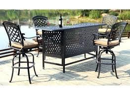 Patio Bar Tables Idea Patio Bar Sets Or Creative Of Outdoor Patio Bar Furniture