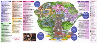 Florida Map Orlando by Magic Kingdom Guidemaps