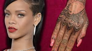 tattoo inspiration rihanna rihanna debuts new henna hand tattoo youtube