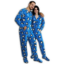 penguins fleece onesie for adults with drop seat polyvore