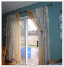 Curtains For Sliding Patio Doors Collection In Sliding Patio Door Curtain Ideas Sliding Door