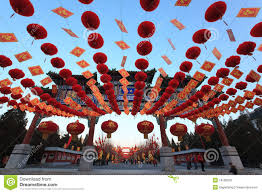 Decorations For Lunar New Year by Colorful Chinese Lunar New Year Decorations Editorial Image