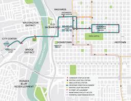 Sacramento Light Rail Map 30 Million Grant Awarded To Sacramento Street Car Project