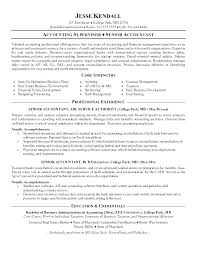 staff accountant sample resume unforgettable staff accountant