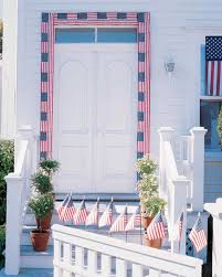 Decorative Flags For The Home Creative Ways To Display The American Flag Martha Stewart