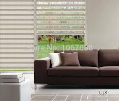 Zebra Floor L 2015 New Translucent 100 Polyester Fold Roller Zebra Blinds