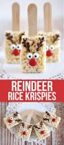 reindeer rice krispie treats rice krispies rice and recipes