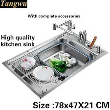Cheap Stainless Steel Sinks Kitchen by Online Get Cheap Stainless Steel Sink Aliexpress Com Alibaba Group