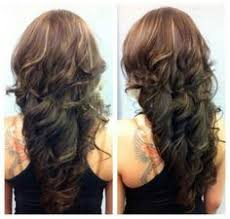 step cut hairstyle for curly hair back view google search hair