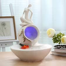 humidificateur de bureau creative céramique décorations décoration bureau feng shui eau