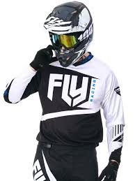 motocross jersey printing fly racing black white 2017 f 16 mx jersey ebay