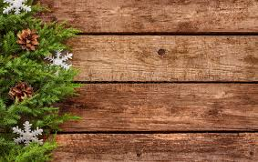 vintage background wood and pine branch stock