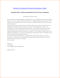 ideas of writing a good reference letter for employee for your