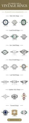 wedding ring styles guide ultimate guide to vintage ring eras sparkles ring