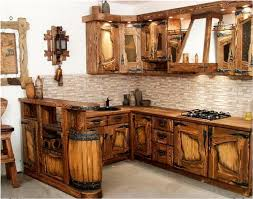 rustic kitchen cabinet ideas choose rustic kitchen theme for vintage and charming touch decor