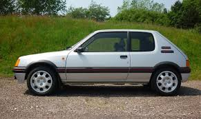 peugeot classic cars 1989 peugeot 205 gti achieves record price at classic car auction