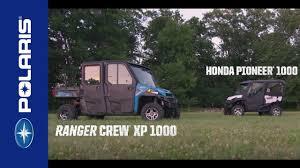 polaris ranger xp 1000 vs honda pioneer 1000 polaris off road