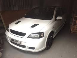 astra gsi mk4 white vxr shell in alnwick northumberland gumtree