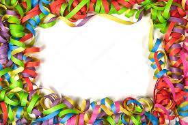 paper ribbons color paper ribbon frame stock photo petermayer 97649236