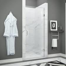 24 Frameless Shower Door Anzzi Fellow Series Sd Az09 01ch