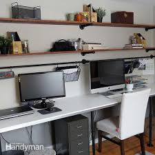Home Office Furniture Stores Near Me 8 Home Office Desk Organization Ideas You Can Diy Family Handyman