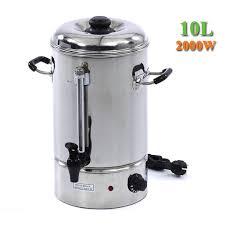 warmwasserboiler küche 10 liter edelstahl design küche elektrische warmwasserboiler urne