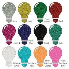 amazon com color theory glitter heat transfer vinyl htv 12