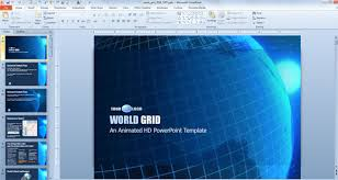 it powerpoint template blue ppt template download free blue ink