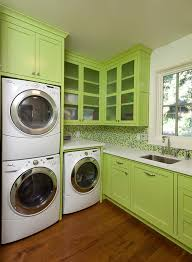 Washer And Dryer Cabinet How Deep Is The Upper Cabinet Above The Stacked Washer And Dryer